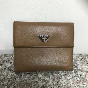 Prada bi folder men's or woman's wallet